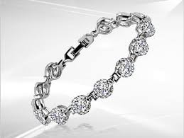 diamond bracelet women images 1 carat excellent design real sona synthetic diamonds bracelet jpg