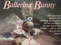 ballerina bunny doll daisy kingdom kit 24 ballerina bunny doll daisy kingdom kit 24