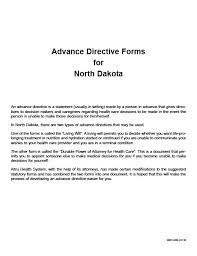 north dakota medical power of attorney form power of attorney