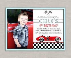 vintage race car birthday invitation by announcingyou on etsy