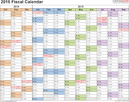 Planning Agenda Template Fiscal Calendars 2015 As Free Printable Word Templates Cal Cmerge