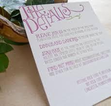 wedding invitation details card lilbibby com