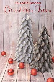 plastic spoon trees crafts ideas and diy for