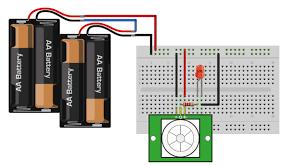 notification for infrared pir motion sensor module hardware