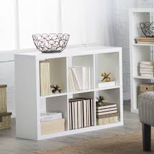 hudson 6 cube bookcase white walmart com