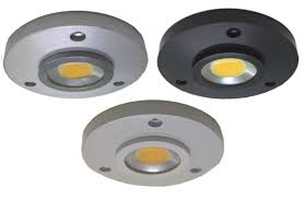 dimmable slim led puck lights kits display cabinet