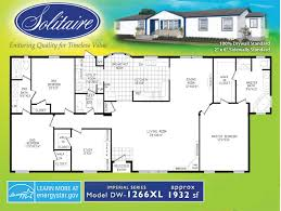 Double Wide Floor Plans With Photos Fleetwood Mobile Home Floor Plans And Prices New Double Wide