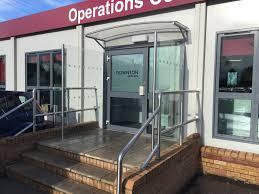 glass door canopies door canopies lock it safe