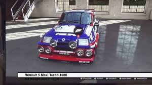 renault 5 tuning forza 5 tuning renault 5 maxi turbo édition philips youtube