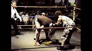 another old mid 1990 u0027s wrestling match featuring the insane