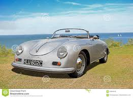 vintage porsche 356 vintage porsche 356 speedster convertible car editorial