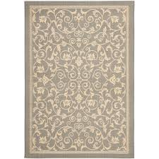 Safavieh Outdoor Rugs Safavieh Courtyard Blue Light Gray 8 Ft X 11 Ft Indoor Outdoor