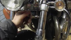 install motorcycle windshield triumph thunderbird youtube