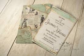 vintage wedding invitation wedding inspirationalage style wedding invitations ireland