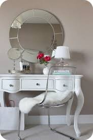 Lucite Vanity Table Dream Vanity Table Beauty Guides Pinterest Dressing Area