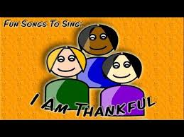 i am thankful thanksgiving song for children theme