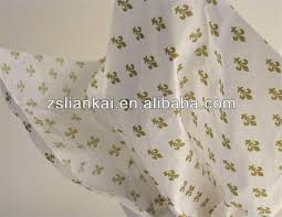 color printed tissue paper tissue wrapping paper with high quality