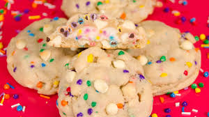 frosting filled birthday cookies chips ahoy copycat from cookies