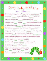 baby mad libs personalized baby mad libs for digital by milestonetreasures