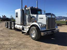 kenworth t900 2007 kenworth w900 sleeper semi truck for sale missoula mt
