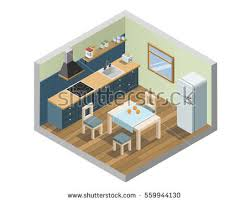 home interior vector furniture and home decoration set icons free vector