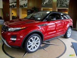 metallic land rover firenze red metallic 2012 land rover range rover evoque coupe