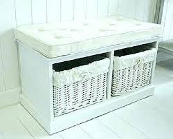 Bathroom Benches With Storage Bench With Storage Baskets Bedroom Stunning Hallway Bench Storage