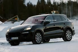 Porsche Cayenne Facelift - fresh spy shots of 2015 porsche cayenne mk2 facelift