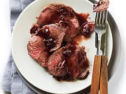 beef tenderloin with cherry black pepper sauce recipe myrecipes