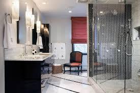 black bathroom tiles ideas black and white bathroom designs hgtv