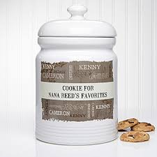 personalized cookie jars personalized cookie jars our loving family