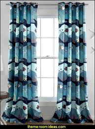 Shark Bedroom Curtains Shark Bedroom Curtains Decorating Theme Bedrooms Maries Manor