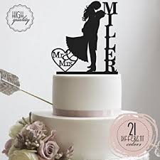 personalized cake topper groom each other customized wedding