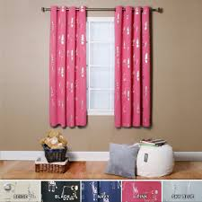 Pink And Grey Shower Curtain by Curtains Attractive Light Blocking Curtains For Family Room