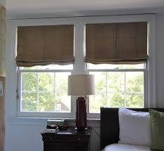 nashville burlap roman shades bedroom eclectic with cottage