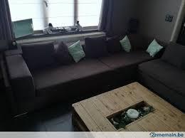 grand canapé d angle en tissu grand canapé d angle tissu italien très bon état a vendre