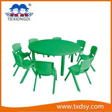 plastic round table and chairs china kids plastic round table and chair furniture china