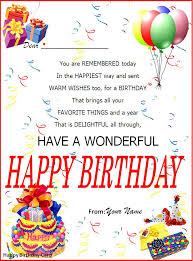 happy birthday cards best word sle of birthday card etame mibawa co