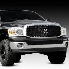 dodge ram black 2007 dodge ram custom grilles billet mesh led chrome black