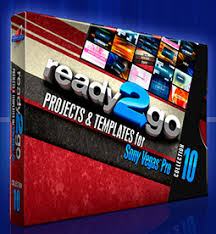 two new sony vegas pro template packages visually stunning by