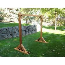 wood country basic swing frame porch swing stand 4bs 1 b free