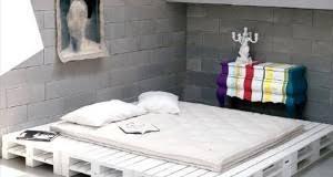 tete de lit chambre ado 34 idées de lit en palette bois a faire pour la chambre