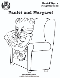 daniel tiger coloring pages birthday party ideas pinterest