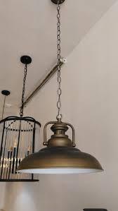 copper industrial lamp creative instrument industrial