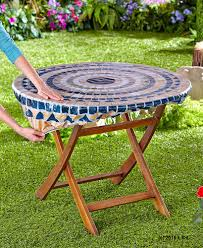 Tablecloth For Patio Table With Umbrella by Elasticized Umbrella Table Covers Home Table Decoration