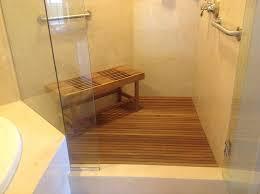 teak bath bench plan u2014 the clayton design adjustable height teak
