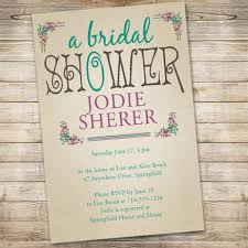 brunch invitation sle vintage bridal shower invitations dancemomsinfo