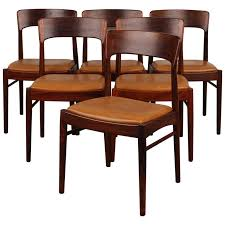 Rosewood Dining Room by Set Of 6 Rosewood Danish Modern Dining Chairs Danish Modern