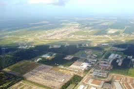 Map Houston Airport George Bush Intercontinental Airport Wikipedia