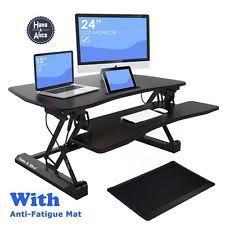 sit or stand desk desks u0026 tables ebay